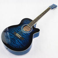 2015 NEW Guitars 40 4 40 Inch High Quality Acoustic Guitar Rosewood Fingerboard Guitarra With Guitar