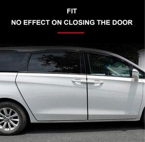 Image 4 - 1M Car Door Edge Guards 2019 Protection for fiat 500 stilo ducato palio bravo doblo grande punto linea freemont panda Strada