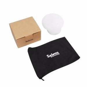 Image 5 - Selens difusor de luz de silicio magnético, esfera de goma, accesorios de Flash Modular para Canon, Nikon, Yongnuo, Speedlite