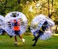 El envío gratuito! medio de color 1.5 m 0.8mm PVC bola burbuja inflable loco fútbol fútbol burbuja en venta