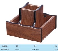Business Card Holder Pen Holder Stationery Receive A Case Free Shipping Wood CaseNO HX 1017