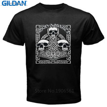 Print T Shirt Hipster  MenS O-Neck Vintage Amon Amarth Metal Rock Band Short Sleeve Compression Shirts