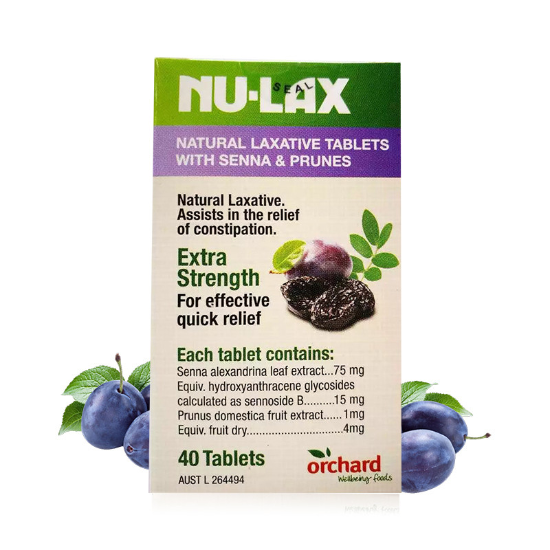 Tablets Evacuation Prunes Vegan Senna Constipation-Treatment Australia Laxative Overnight-Relief