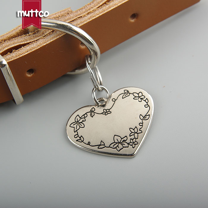 Wholesale Kirsite Stainless Steel Can Be Customized Tag Fashion Heart Sharp Dog Id Tag