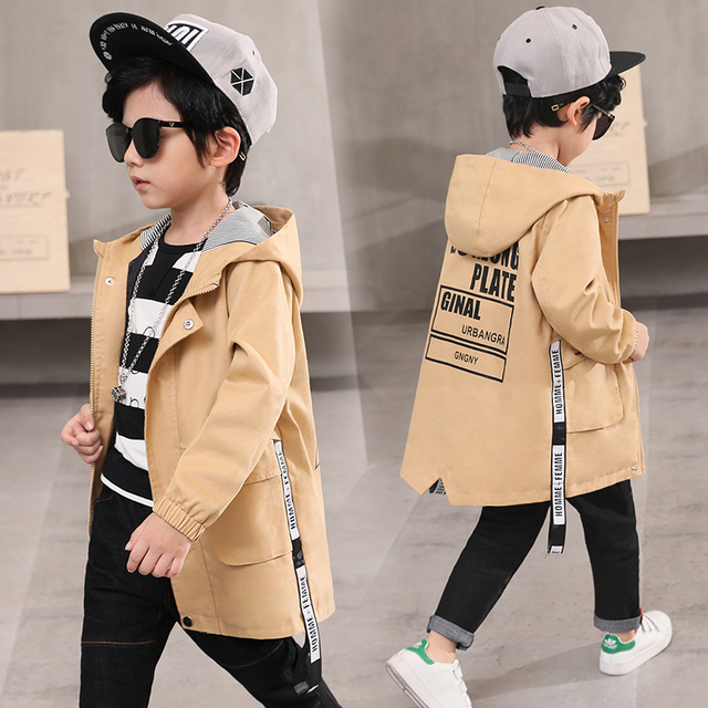 38289c2ce2e8 Children s wear boys  coats spring clothes 2018 new boy fashion ...