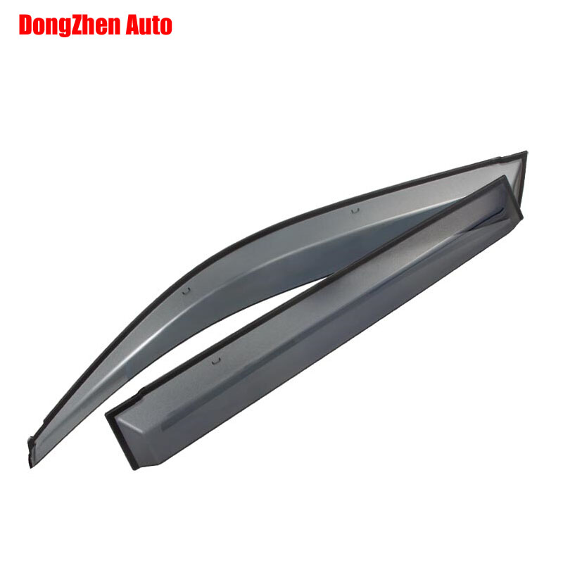 Auto rain shield window visor car window deflector sun visor covers stickers Fit For TOYOTA PRADO 2010 PC 4pcs/set 4pcs for toyota corolla 2014 2015 sun rain shield covers car awnings