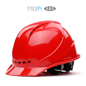 Hard-Hat Helmets Protective Construction Work-Cap Site Engineering Abs-Material High-Strength