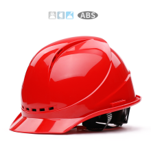 6 Colors Safety Helmet Work Cap High-strength ABS Material Engineering Helmets Hard Hat Site Construction Protective Hard Hat breathable hitting proof safety helmets construction site safety helmet v shape engineering protective helmet