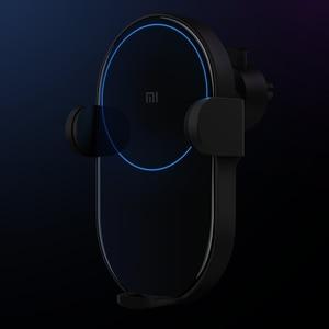 Image 2 - 원래 xiaomi 무선 자동차 충전기 20 w 빠른 충전기 자동차 휴대 전화 홀더 슈퍼 빠른 충전 스탠드 mi9 아이폰 xs 최대
