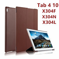 For Lenovo Tab 4 10 Case Cover Tab410 Protective Protector Smart Thin Leather PU TB X304F