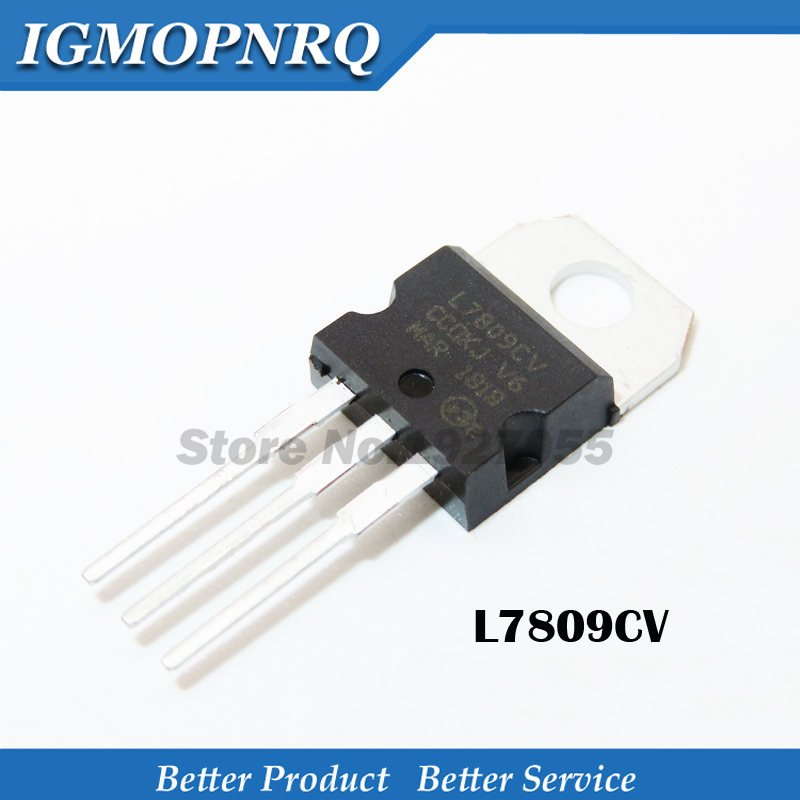 10PCS L7809CV TO220 L7809 TO-220 7809 LM7809 MC7809 7808CV New And Original IC