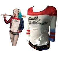 Batman Arkham Asylum City 2016 Suicide Squad Harley Quinn Costume T Shirt Daddy S Lil Monster