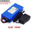 LiitoKala 14 8 V 10Ah 18650 li-iom аккумулятор ночная рыбалка лампа обогреватель Шахтерская лампа усилитель батарея с BMS + зарядное устройство 16 8 V