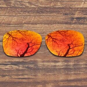 Image 2 - החלפת ToughAsNails מקוטב משקפי שמש עדשות עבור אוקלי זרז אש צבע אדום שיקוף (עדשה בלבד)