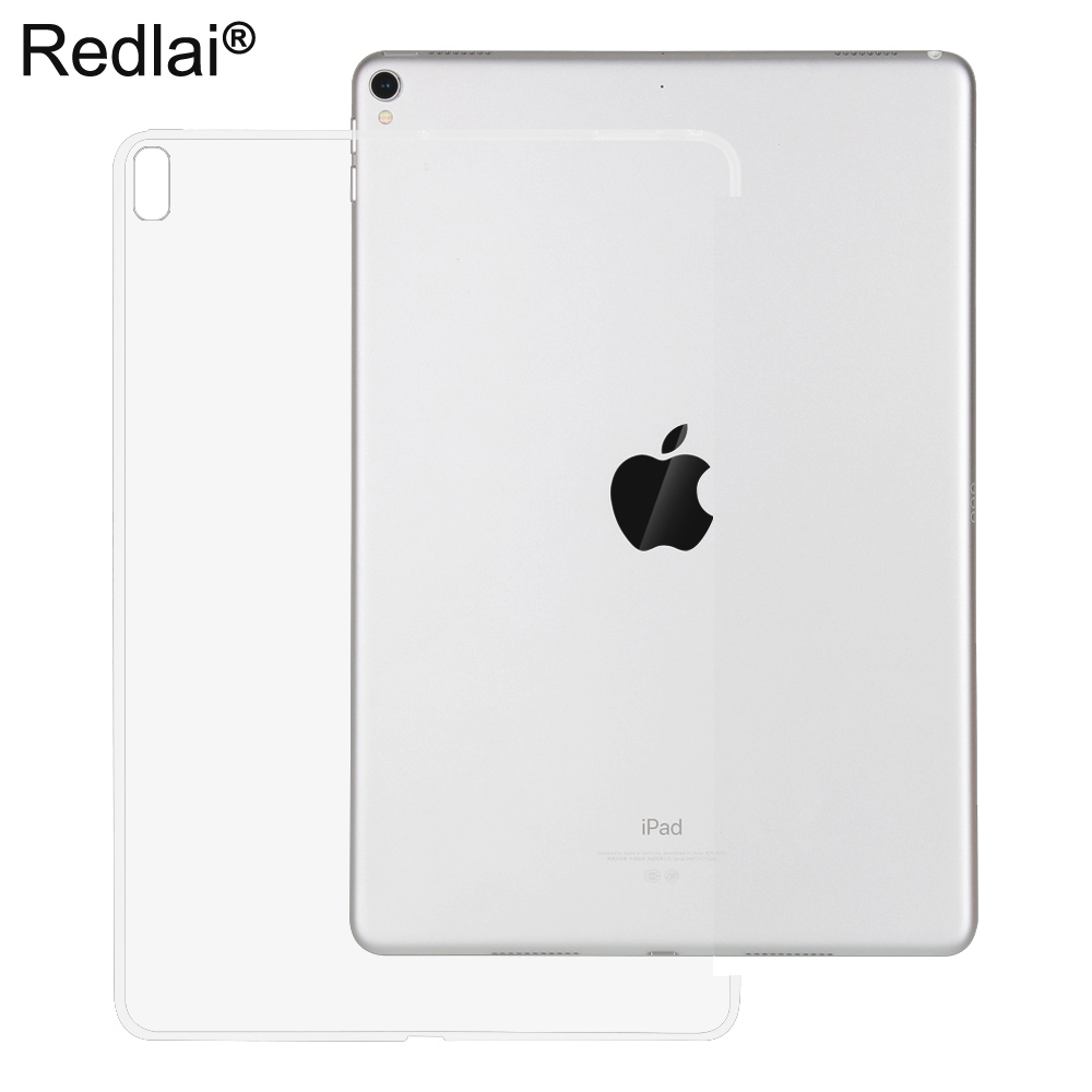 Redlai For iPad Pro 10.5 inch 2017 Release, Transparent Clear TPU Soft Case For iPad Pro 10.5 inch can work with smart keyboard redlai for ipad pro 10 5 inch 2017