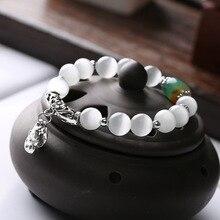 New fashion temperament opal bracelet ethnic style personality bracelets Retro elegant versatile hand jewelry