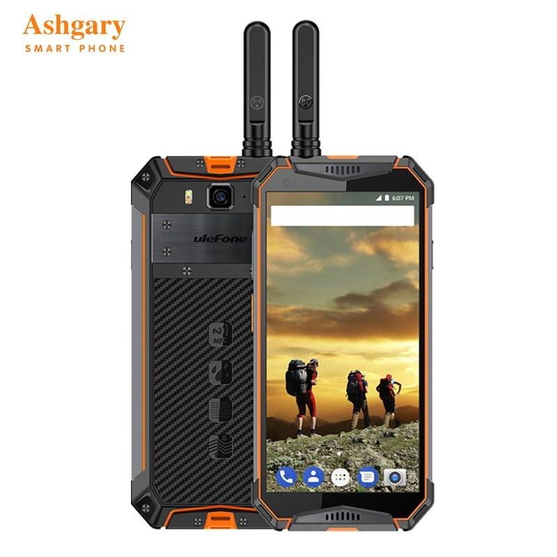 Smartphone Ulefone Armor 3 T 4G 5.7 pouces Android 8.1 Oreo Helio P23 (MT6763T) Octa Core 4 GB 64 GB 21.0MP empreinte digitale 10300 mAh