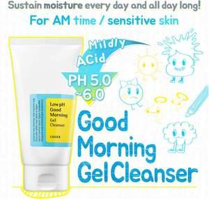 Image 2 - COSRX Low pH Good Morning Gel Cleanser 150ml peeling do twarzy płyn do demakijażu żel regenerujący (skóra wrażliwa) 1 szt.