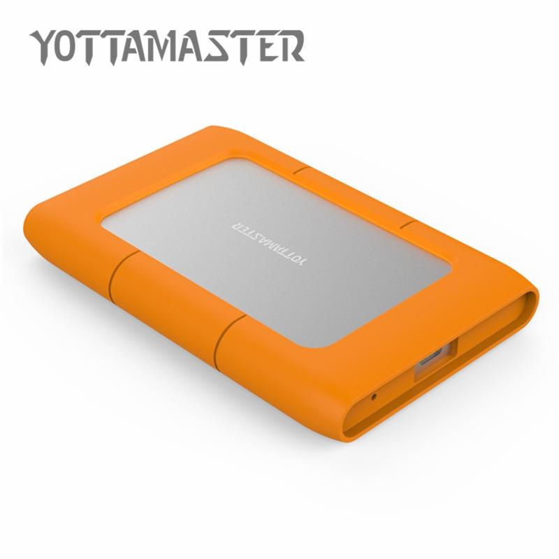 YOTTAMASTER Sata3.0 - USB3.1 alumínium külső HDD tok a hordozható - Külső tárhely