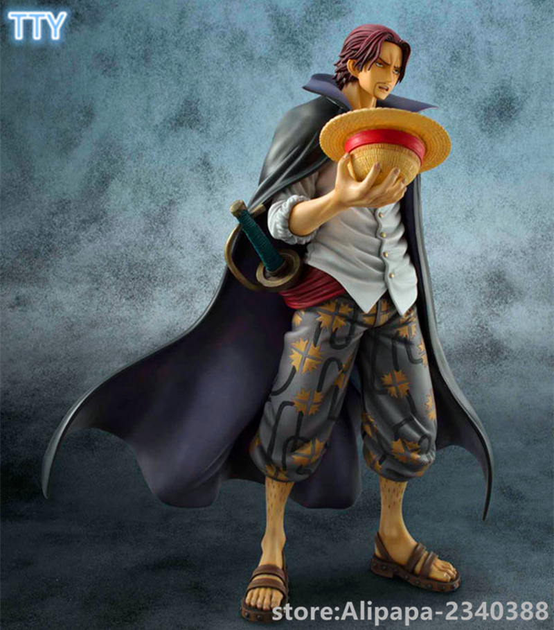 "8/"" ONE PIECE SHANKS Action Figure Anime Colosseum Collectible Toy Collection New"