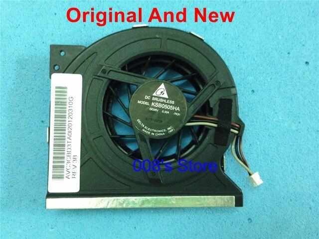 100% Original Notebook CPU Cooler Radiator Fan For Toshiba A300D P300D Satellite P300 P305 DELTA KSB0505HA-7K31 DC 5V 0.32A