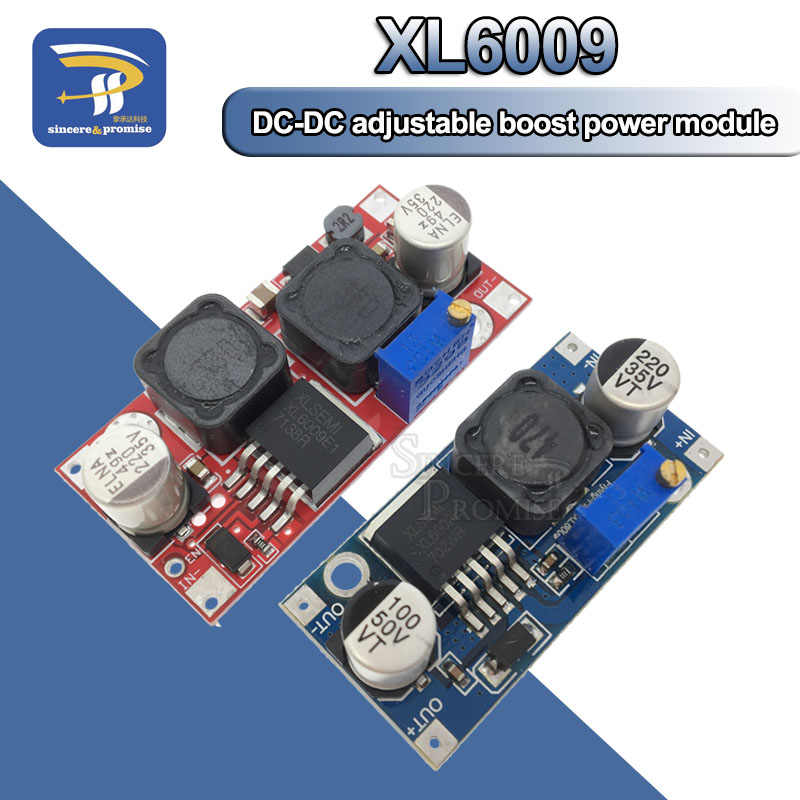 XL6009 Boost Buck convertisseur réglable 15W 5-32V à 5-50V DC-DC Module d'alimentation haute Performance faible ondulation
