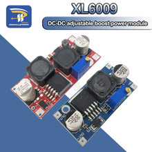 Xl6009 boost buck conversor potência, ajustável, 15w, 5-32v, para 5-50v, DC-DC módulo de fonte de alto desempenho