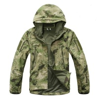 Winter Army Camouflage Military Lurker Shark Skin Soft Shell Jacket Waterproof Windbreaker Tactical Jacket Men Thermal