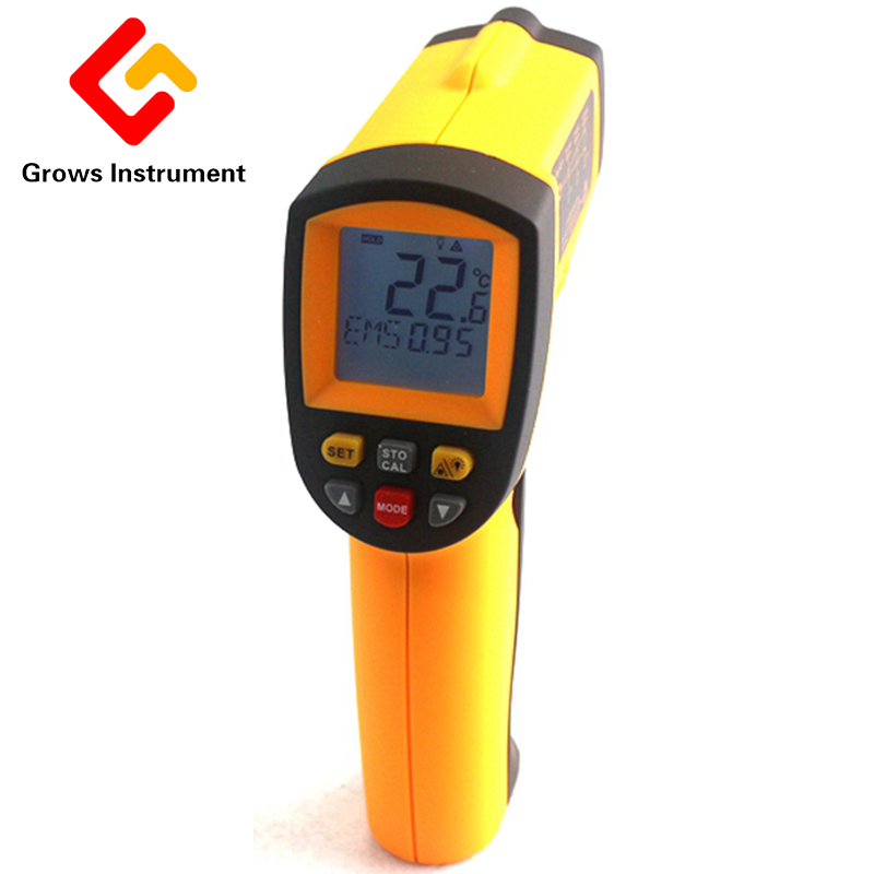 GM900 Thermometer LCD Digital IR Laster Infrared Temperature Meter Non-contact Gun Style Handheld -50~900 Degree PyrometerGM900 Thermometer LCD Digital IR Laster Infrared Temperature Meter Non-contact Gun Style Handheld -50~900 Degree Pyrometer