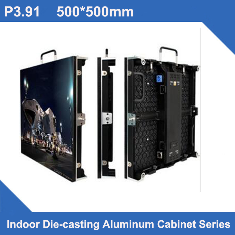 TEEHO 4pcs a lot indoor P3.91 led screen wall 500x500mm 2121smd full color rental led video wall led sign with 1pcs road caseTEEHO 4pcs a lot indoor P3.91 led screen wall 500x500mm 2121smd full color rental led video wall led sign with 1pcs road case