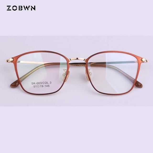 2ee55dcec54 Mix wholesale square frames 2018 New Trendy Optical Glasses Frame Clear  lens Woemn Brand Eyeglasses Women Ultra-light Eye Frame