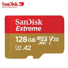 SanDisk U3 Memory Card 128GB 64GB SDXC Micro SD Card 32GB SDHC V30 U3 C10 Official Verific