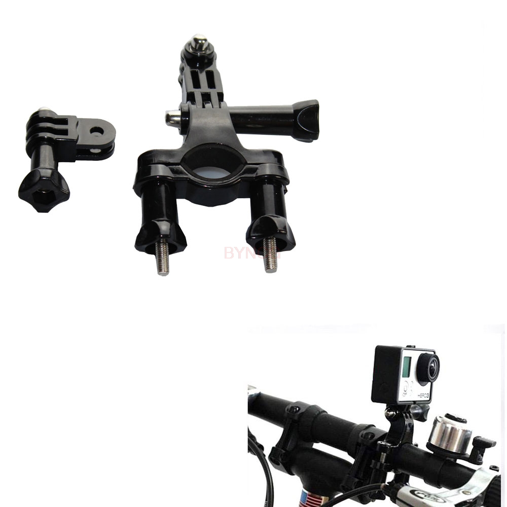 BYNCG Fahrrad Berg Bike Lenker Sattelstütze Stativ Halter Clamp Für Gopro Hero 6534 SJCAM SJ4000 Xiaomi Yi 4 Karat Kamera zubehör