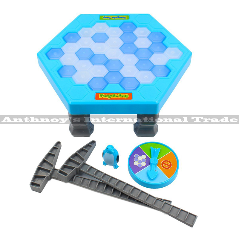 Ice Breaking Toy Save the Penguin Great Family Fun Game Pretty Gift table game toys ice breaking for kids Funny toy funny fishing game family child interactive fun desktop toy
