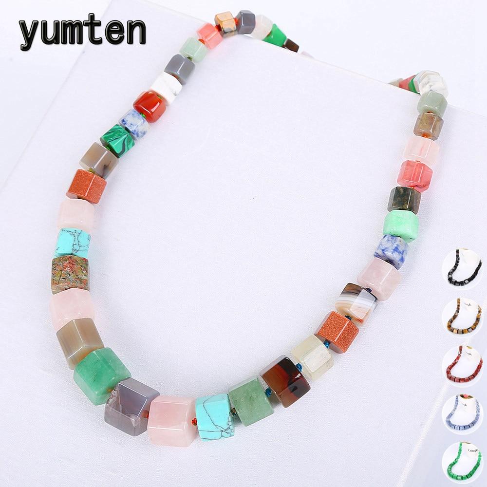 Yumten Mujeres Arco Iris Collar Hombres Étnicos Gran Gargantilla - Joyas - foto 1