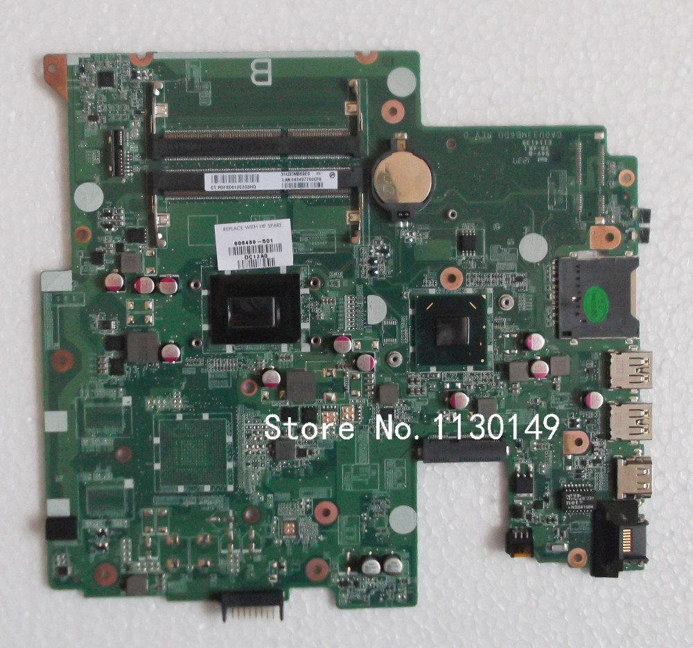 698489-501 for HP Sleekbook 14 laptop motherboard 698489-001 DA0U33MB6D0 100% full tested OK Free Shipping crocker nature and culture