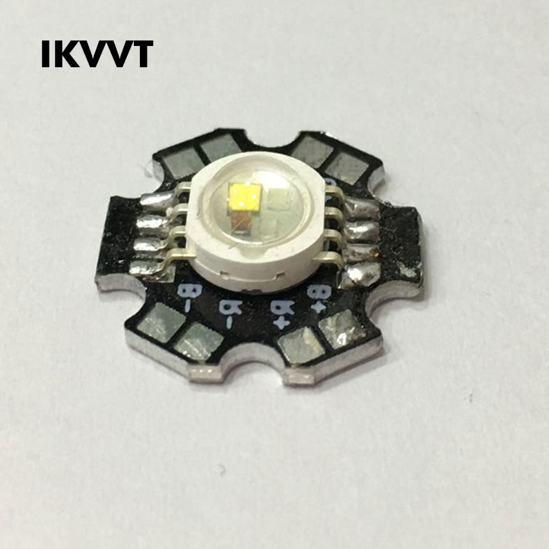 10Pcs High Power LED Chip 20MM Aluminum Substrate Spotlight LED Lamp Light Beads Diode 1W 3W 5W Warm White Red Green Blue White in Light Beads from Lights Lighting