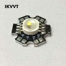 10Pcs High Power LED Chip 20MM Aluminum Substrate Spotlight LED Lamp Light Beads Diode 1W 3W 5W Warm White Red Green Blue White(China)