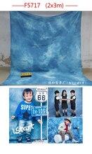 Chegada nova Tye Die-casamento Muslin fundo F5717, foto do bebê pano de fundo, fundo fotografia 200 cm * 300 cm