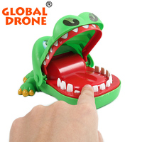 2016 Best Halloween Toys Crocodile Mouth Dentist Bite Finger Game Funny Toy For Children