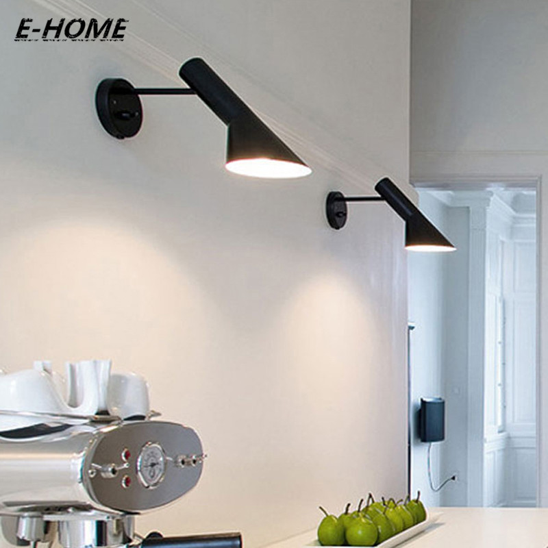 Modern Indoor Wall Lamps For Bedroom bedside TV Background bathroom Mirror Lighting forKitchen Living Room Iron  Sconce