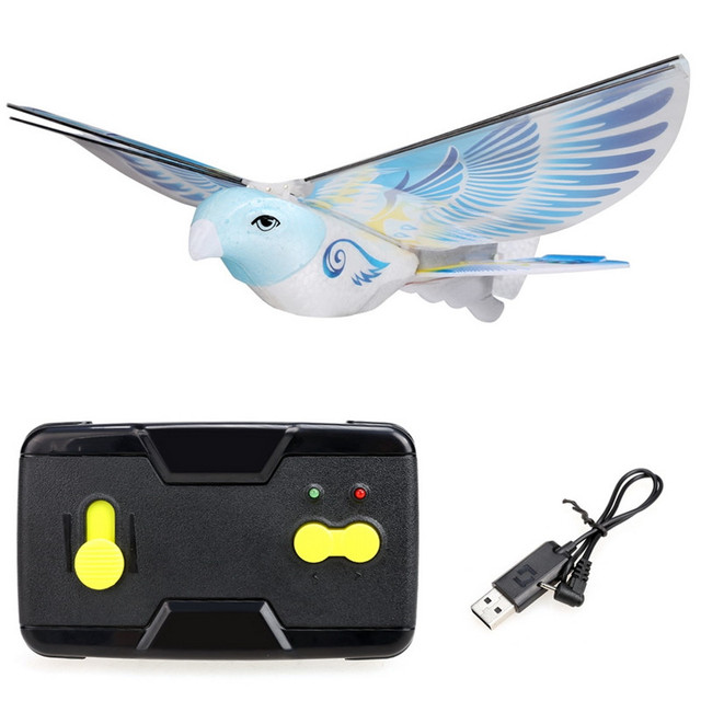 RC Toy Flappy RC Bird 2.4G Remote Control Authentic E-Bird Boy Aircraft Flying Quadrocopter RC Drone RC Plane