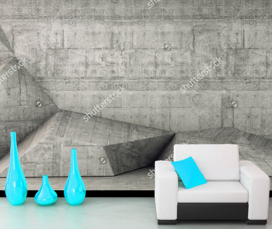 Custom concrete wall wallpaper,3D modern mural for the living room bedroom sofa background wallpaper papel de parede все цены