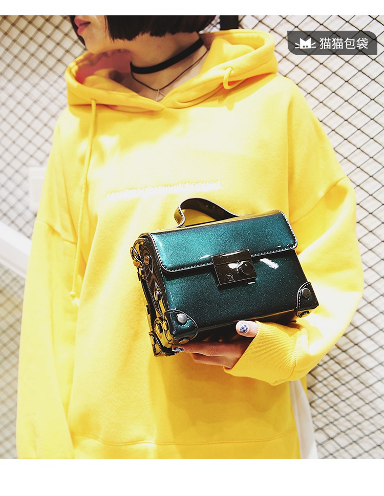 Brand Fashion Casual Women Shoulder Bags Silver Gold Patent leather Handbag PU Leather Female Big Tote Bag Ladies Hand Bags Sac 7