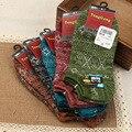 10 unidades = 5 pares de Nuevo el más magnífico estilo nacional calcetines Hombres calcetines de Algodón calcetines de algodón