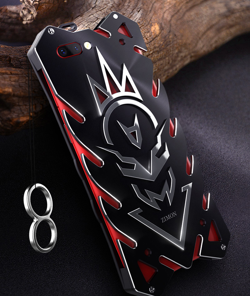 Aluminum Armor Thor Case For OPPO R11 Plus Case Cover The Flash Iron Man Phone Protective Shell Skin Bag For OPPO R11 Plus