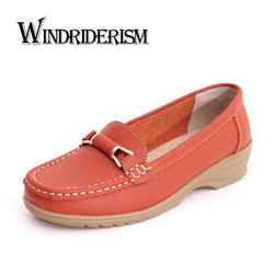 Windriderism 2017 new genuine leather women flats moccasins loafers soft driving women casual shoes leisure concise.jpg 250x250