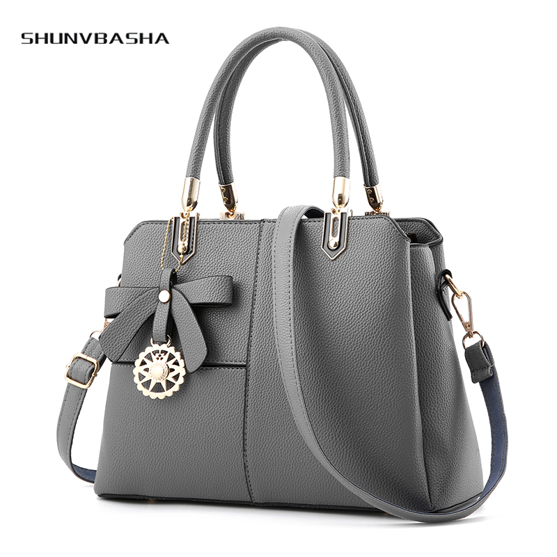 Patchwork Fashion Handbags For Las Hard Handle Zipper Elegant Sweet Women Shoulder Bags Pu Medium Size Party Female Handbag In From Luggage