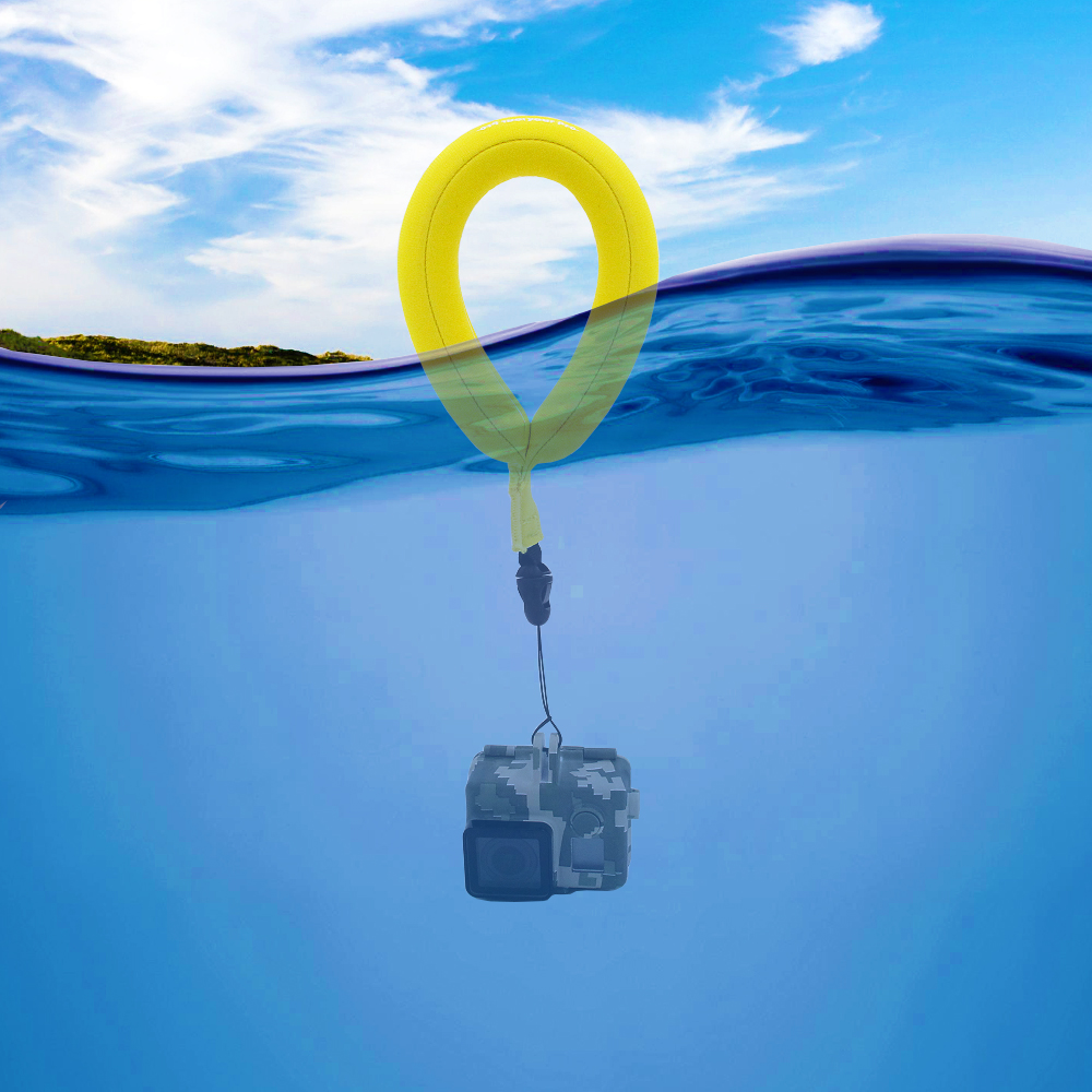 TELESIN Floating Strap 2 pack for Underwater Gopro Action Cameras Swimming Diving Sea Fishing or Other