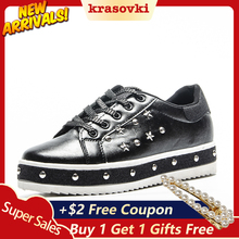 Krasovki 2019 Fashion Women Vulcanized Shoes Sneakers Ladies Lace up Casual Shoes Breathable Walking Canvas Shoes цена и фото